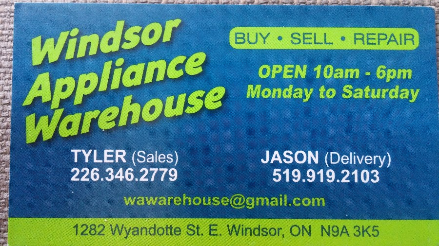 Windsor Appliance Warehouse